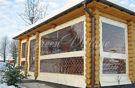 Мягкие окна из ПВХ в Твери: беспроблемная эксплуатация зимой