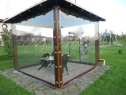Мягкие окна для веранды рулонные – близость к природе в Калуге
