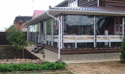 Сколько лет способны прослужить мягкие окна для террасы в Калуге?