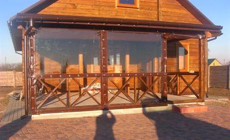 Гибкие окна – возможность пить чай на веранде в Твери в любое время года