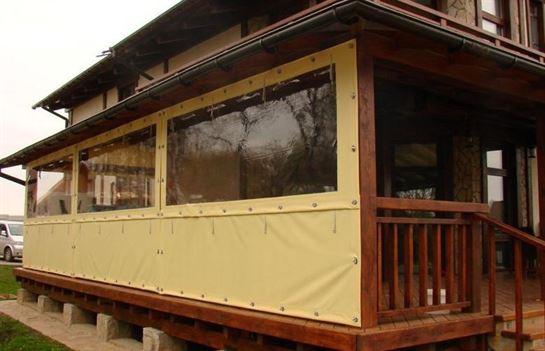 Гибкие окна станут украшением для любой беседки в Твери