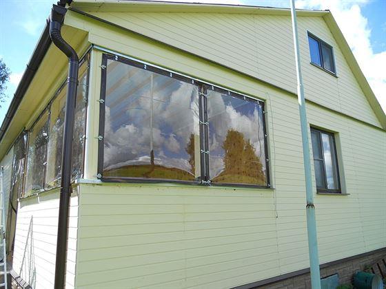 Гибким окнам не страшны перепады температур, непогода и заломы