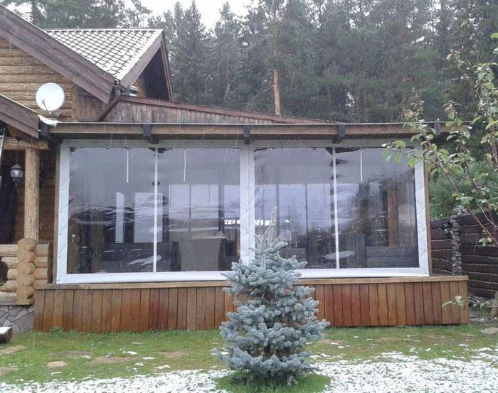Особенности ухода за гибкими окнами