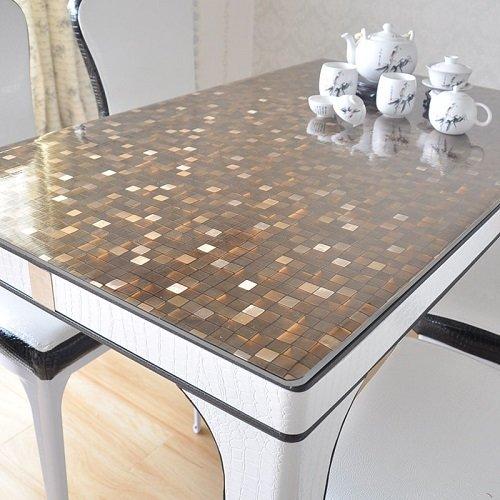 Прозрачная защитная пленка для кухонного стола (силиконовая накладка) по самой доступной цене в москве от «декорум в доме».